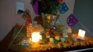Ołtarz Dia de Muertos