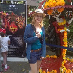Dekoracje Dia de Muertos Mexico City