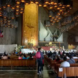 Świątynia Gudalupe w środku