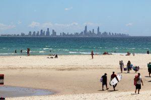 Panorama Gold Coast Australia przewodnik