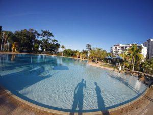 Australia przewodnik darmowy basen Brisbane