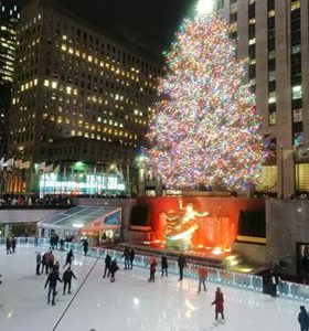 Organizacja wypraw - Święta w Nowym Jorku zLukaszem (Rockefeller Center choinka)