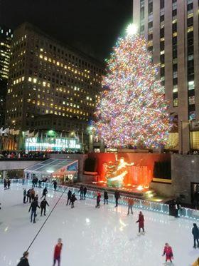 Organizacja wypraw - Świąteczny Nowy Jork zLukaszem (Rockefeller Center choinka)
