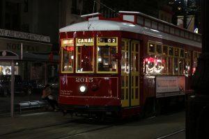 Charakterystyczny tramwaj, Nowy Orlean