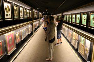 Część nagród Elvisa Presleya, Graceland, Memphis