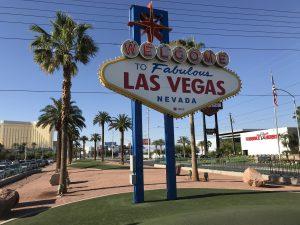 USA - najważniejsze atrakcje - znak Fabulous Las Vegas