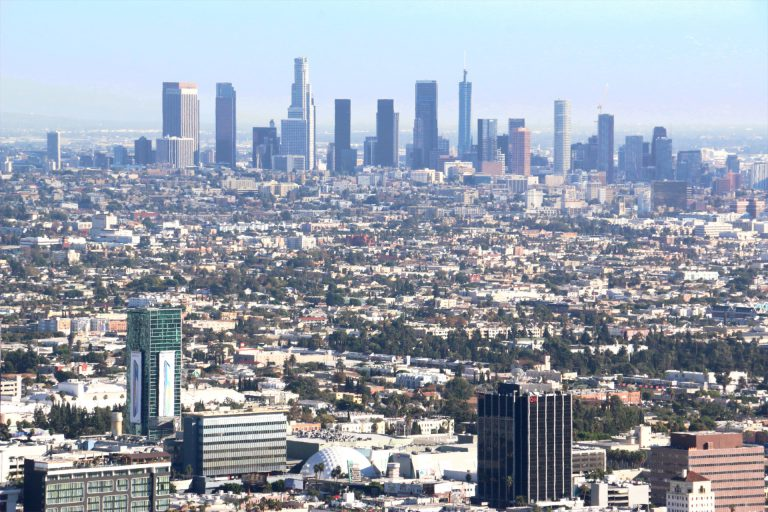 Los Angeles Downtown - wieżowce