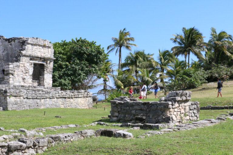 Tulum - ruiny