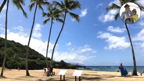 Hawaje: food-trucki i park kultury Waimea na wyspie Oahu