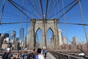 Brooklyn Bridge - atrakcja w Nowym Jorku