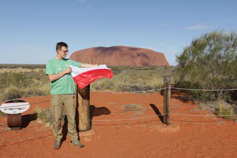 Uluru, punkt widokowy