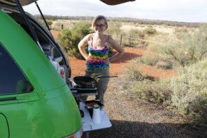 Camper - australijski Outback - podróż