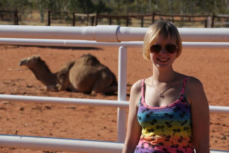 farma wielbłądów, Outback