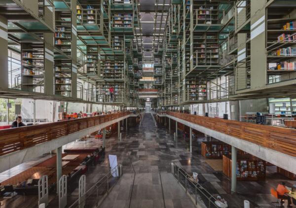 Biblioteka Vasconcelos - mexico city atrakcje