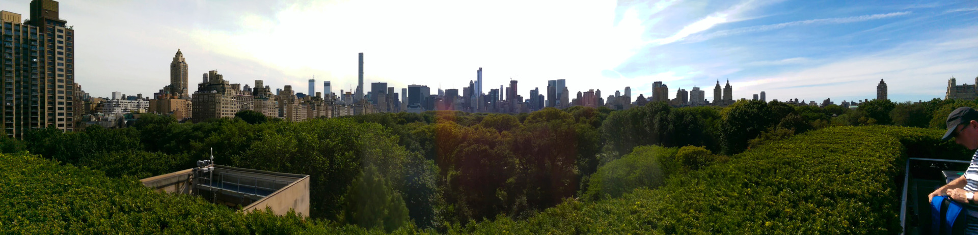 Najlepsze punkty widokowe w Nowym Jorku - Panorama na Manhattan z Central Parku - Metropolitan Museum of Art