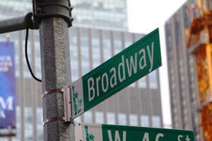 Broadway - atrakcja Nowego Jorku
