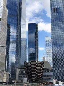 The Vessel na Manhattanie - taras widokowy w Nowego Jorku