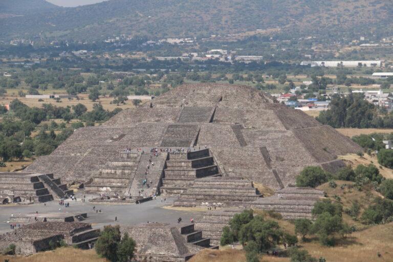 Piramida Księżyca, Teotihuacan, Mexico City co warto zobaczyć Meksyk