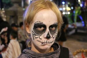Catrina podczas Dia de Muertos