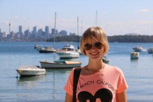 Watsons Bay i widok na centrum Sydney