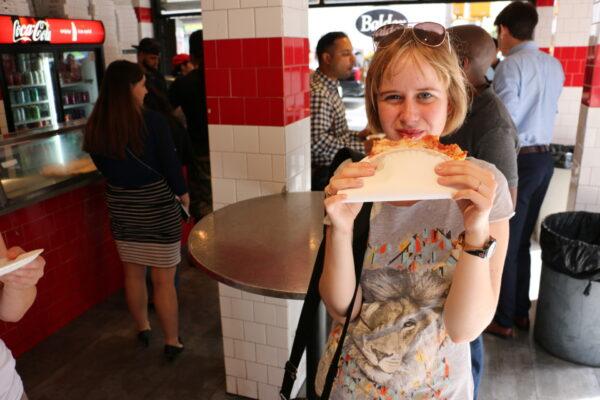 Pizza za dolara - tanie zwiedzanie Nowego Jorku