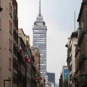 Meksyk atrakcje - Wieża Latynoamerykańska (Torre Latinoamericana)