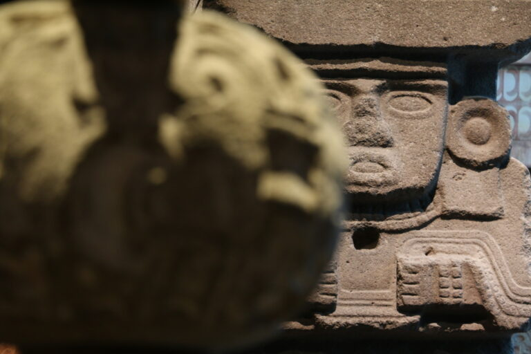 Eksponat w Muzeum Antropologicznym - atrakcje Mexico City, co zobaczyć?