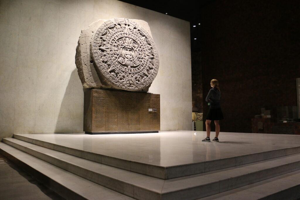 Muzeum Antropologiczne w Mexico City - kalendarz