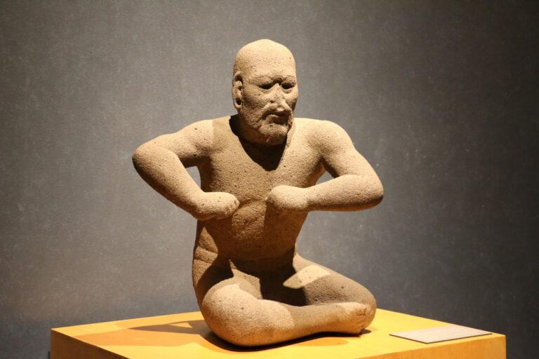 Eksponat w Muzeum Antropologii - atrakcje Mexico City