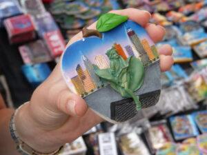 Pamiątki w Nowym Jorku - magnes
