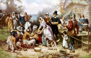 Wspominanie historii Thanksgiving