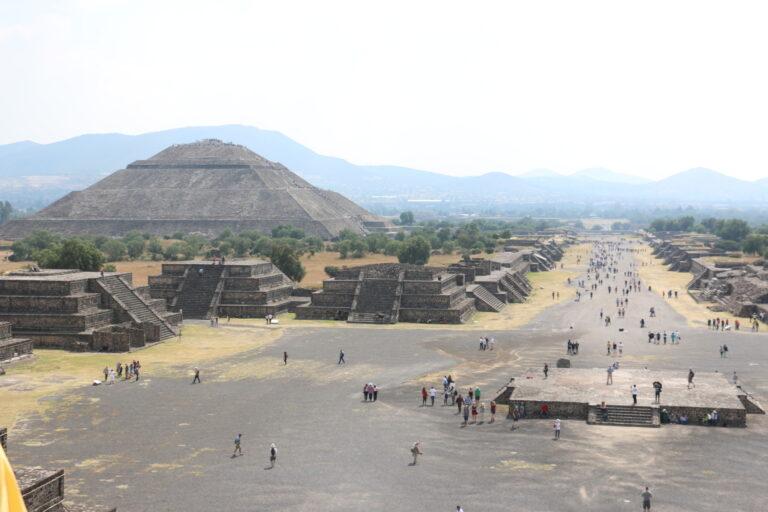 Teotihuacán, piramidy w Meksyku