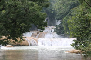 Agua Azul, Chiapas - atrakcje Meksyku