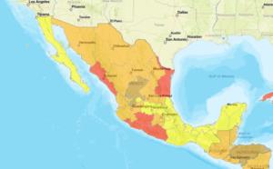 Mapa niebezpieczeństw w Meksyku - kartele narkotykowe