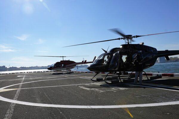 Groupon Nowy Jork - lot helikopterem - tanie zwiedzanie
