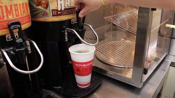 Nowy Jork - tanie zwiedzanie - kawa w 7 eleven