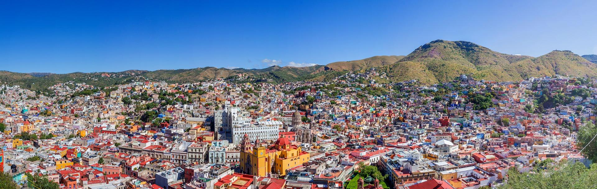 Guanajuato - kolorowe miasto w Meksysku