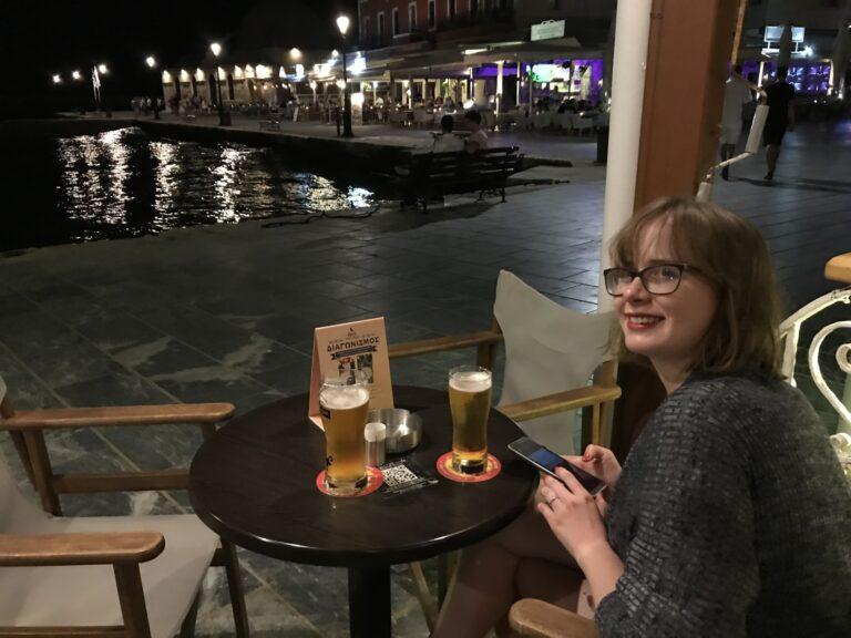 greckie piwo kraftowe w Chanii