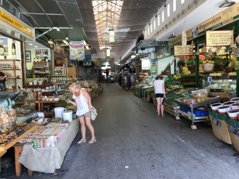 Hala targowa - Chania, Kreta
