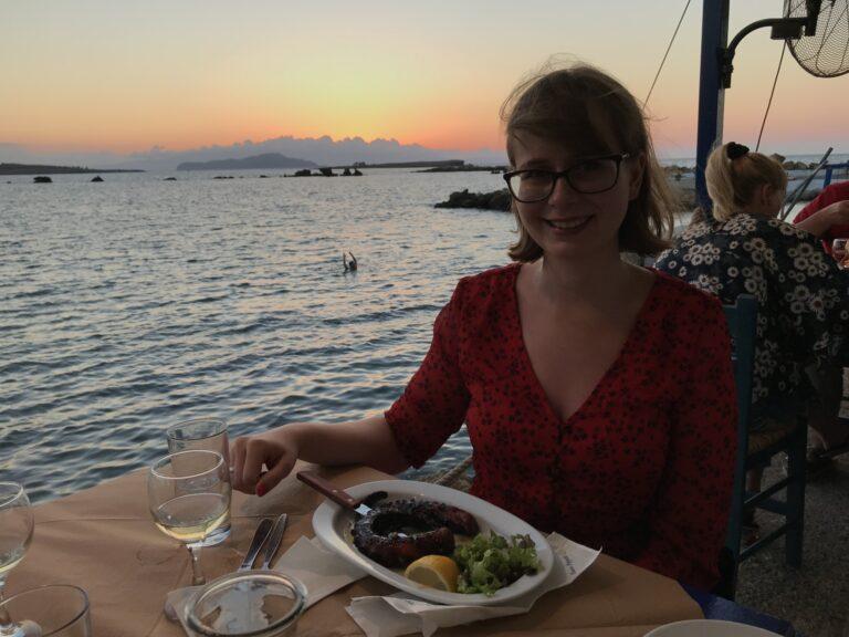 Grillowana ośmiornica - najlepsza restauracja w Chanii