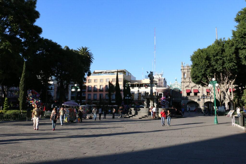 Zocalo - Centrum miasta w Puebli