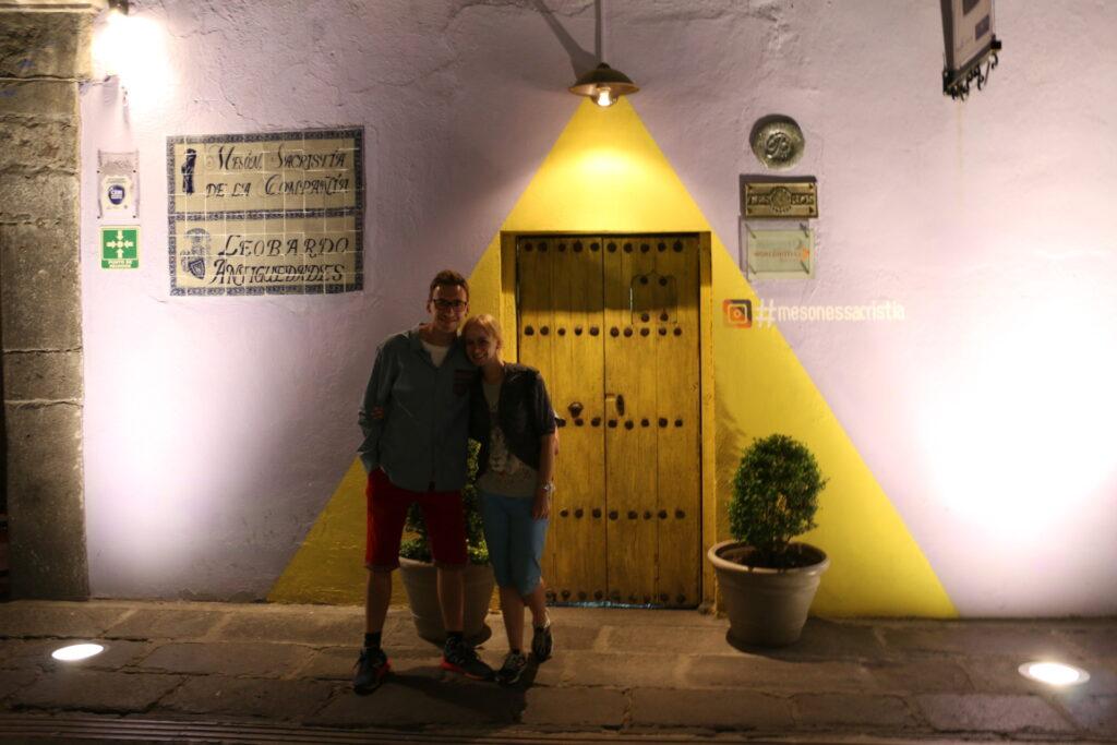 Kolorowe budynki w centrum Puebla - warto zobaczyć