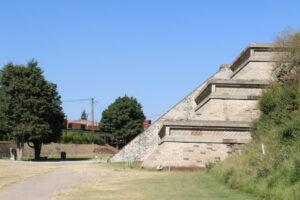 Piramida w Cholula, Puebla