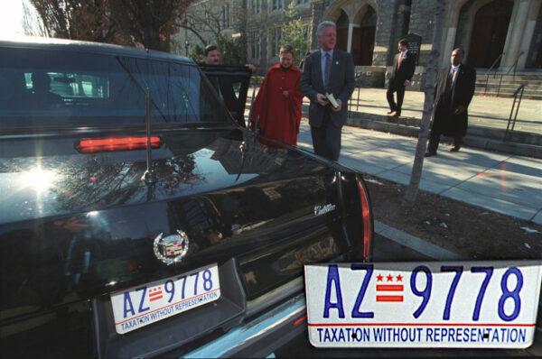 Bill Clinton limuzyna prezydencka