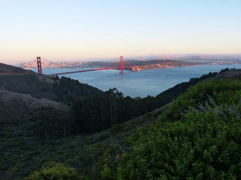 San Francisco i Golden Gate - widok