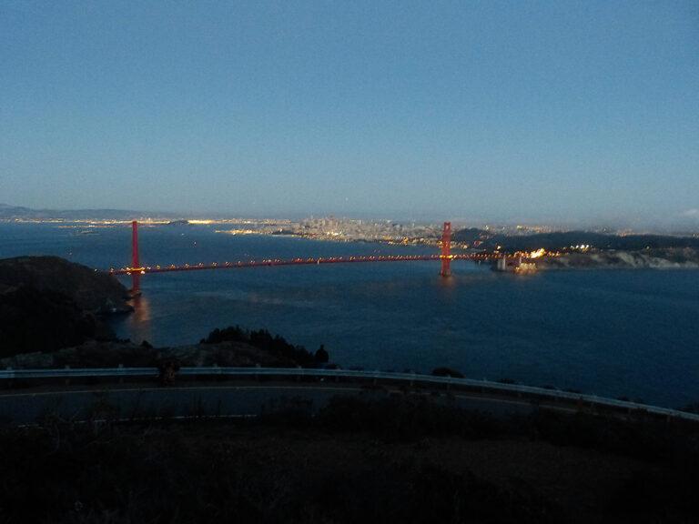 Batter 129 - Golden Gate - atrakcja San Francsico