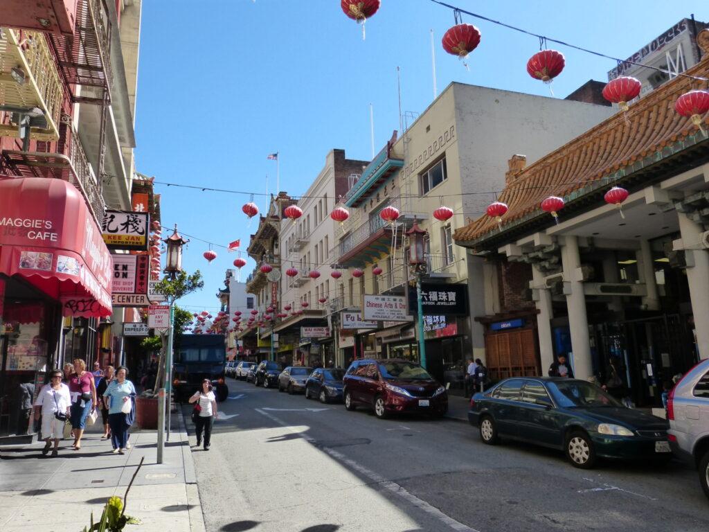 China Town w San Francisco