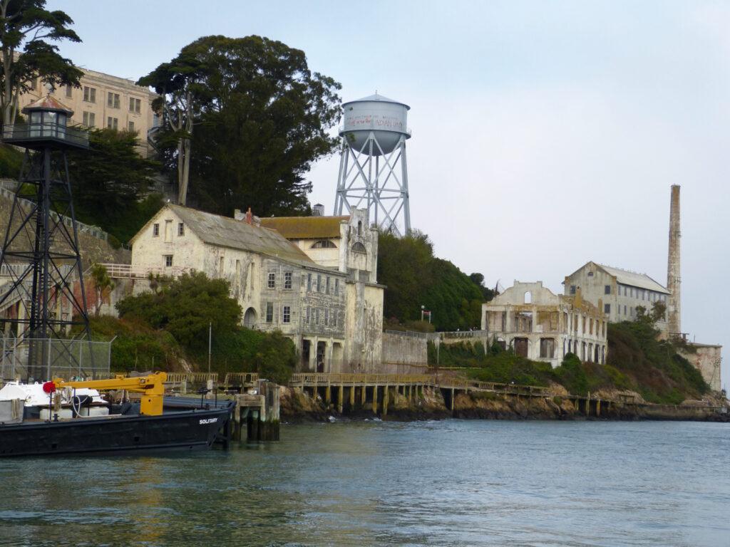 Więzienie Alcatraz - warto zobaczyć w San Francisco