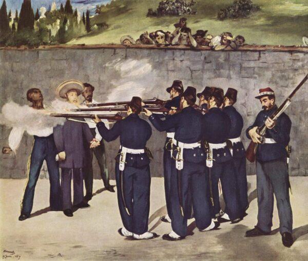 Maksymilian I - egzekucja
