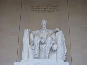Pomnik Lincolna w mauzoleum
